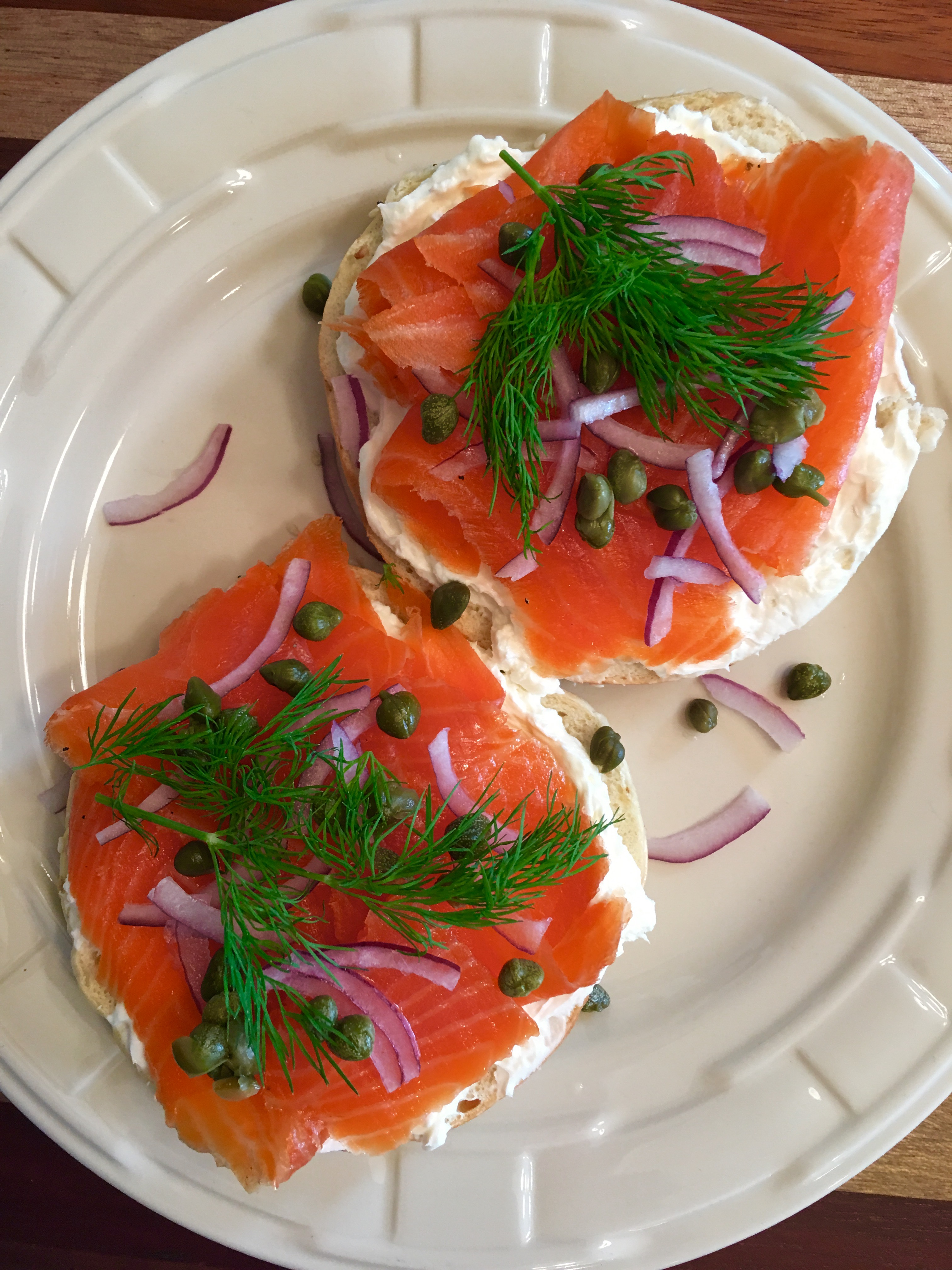 Cold smoked salmon or steelhead trout knife and fork living for Smoked fish near me
